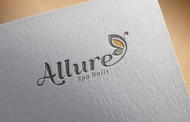 Allure Spa Nails Logo - Entry #78
