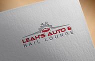 Leah's auto & nail lounge Logo - Entry #132