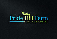 Pride Hill Farm & Garden Center Logo - Entry #32