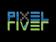 Pixel River Logo - Online Marketing Agency - Entry #84
