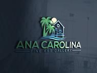Ana Carolina Fine Art Gallery Logo - Entry #220