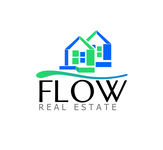 Flow Real Estate Logo - Entry #109