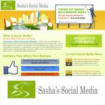 Sasha's Social Media Logo - Entry #43