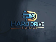 Hard drive garage Logo - Entry #269