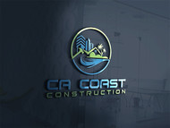 CA Coast Construction Logo - Entry #51