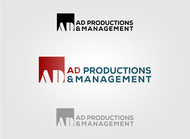 Corporate Logo Design 'AD Productions & Management' - Entry #90