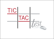 TicTacTest Logo - Entry #33