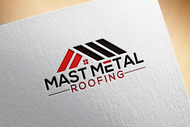 Mast Metal Roofing Logo - Entry #97