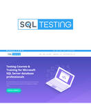 SQL Testing Logo - Entry #57