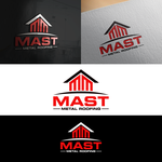 Mast Metal Roofing Logo - Entry #299