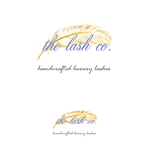 the lash co. Logo - Entry #33