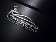 Bill Blokker Spraypainting Logo - Entry #29
