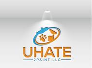 uHate2Paint LLC Logo - Entry #47