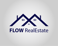 Flow Real Estate Logo - Entry #46