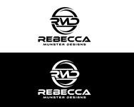 Rebecca Munster Designs (RMD) Logo - Entry #137