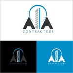 AIA CONTRACTORS Logo - Entry #115