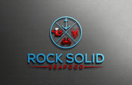 Rock Solid Seafood Logo - Entry #19