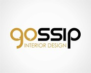 Gossip Interior Design Logo - Entry #87