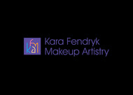 Kara Fendryk Makeup Artistry Logo - Entry #131