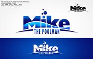 Mike the Poolman  Logo - Entry #43