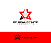 CZ Real Estate Rockstars Logo - Entry #143