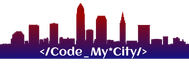Code My City Logo - Entry #13