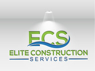 Elite Construction Services or ECS Logo - Entry #243