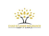 Chad Studier Insurance Logo - Entry #356