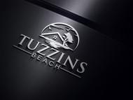 Tuzzins Beach Logo - Entry #13
