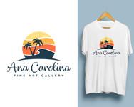 Ana Carolina Fine Art Gallery Logo - Entry #141