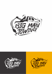 Big Man Towing Logo - Entry #40
