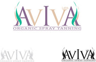 AVIVA Glow - Organic Spray Tan & Lash Logo - Entry #14