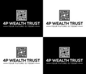 4P Wealth Trust Logo - Entry #227