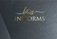 B&A Uniforms Logo - Entry #157
