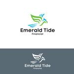Emerald Tide Financial Logo - Entry #366