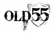 """""""OLD 55"""" - mid-century vintage furniture and wares store Logo - Entry #194"""
