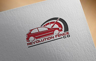Revolution Fence Co. Logo - Entry #326