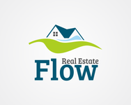Flow Real Estate Logo - Entry #75