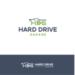 Hard drive garage Logo - Entry #88