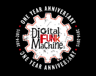 Digital Funk Machine Logo - Entry #29