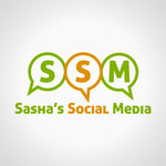 Sasha's Social Media Logo - Entry #129