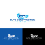 Elite Construction Services or ECS Logo - Entry #46