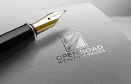 "Open Road Wealth Services, LLC  (The ""LLC"" can be dropped for design purposes.) Logo - Entry #100"