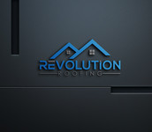 Revolution Roofing Logo - Entry #103