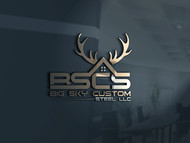 Big Sky Custom Steel LLC Logo - Entry #34