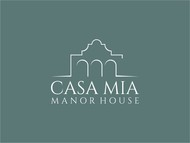 Casa Mia Manor House Logo - Entry #33