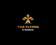 The Flying V Ranch Logo - Entry #31