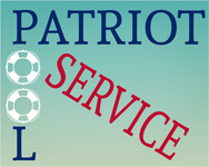 Patriot Pool Service Logo - Entry #48