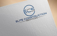 Elite Construction Services or ECS Logo - Entry #68