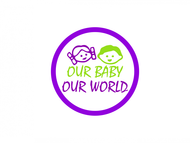 Logo for our Baby product store - Our Baby Our World - Entry #95